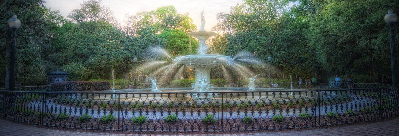 Forsyth Park,Savannah,Georgia, USA