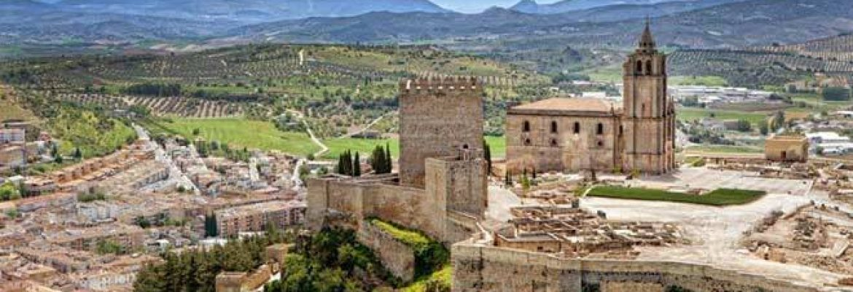 Fortaleza de la Mota,Alcalá la Real, Jaén, Spain