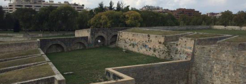 Fortress and Walls of Pamplona,Navarra, Spain