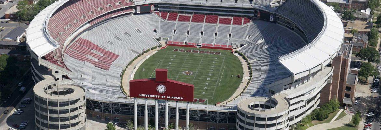 Bryant Denny Stadium, Tuscaloosa,Alabama, USA