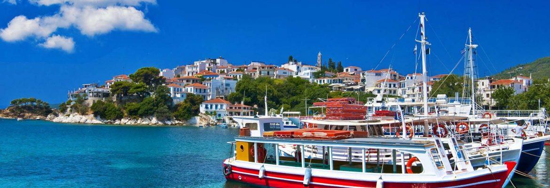 Ferry Island of Patmos, Greece