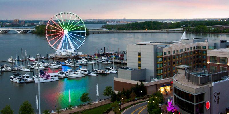 Harborfront Area, National Harbor, Maryland, USA
