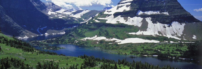 Hidden Lake, West Glacier,Montana, USA