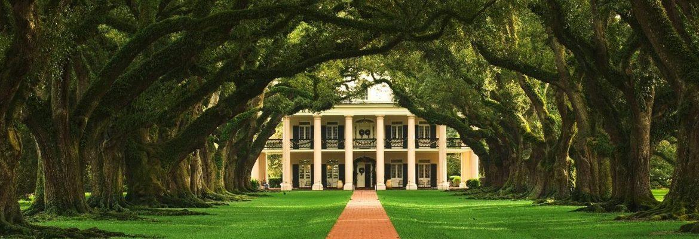 Oak Alley Plantation, Vacherie,Louisiana, USA