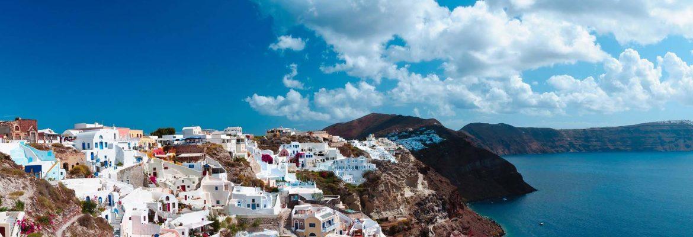 Hiking the Island of Santorini, Greece