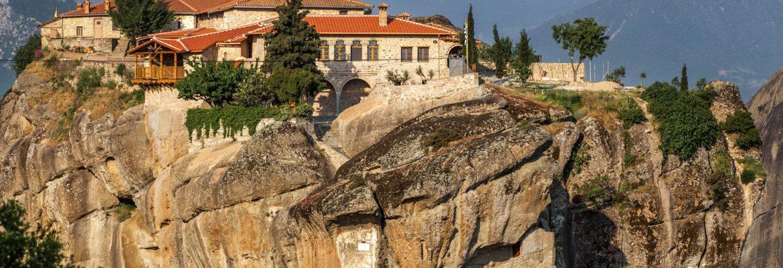 Monastery of the Holy Trinity,Kalabaka, Greece