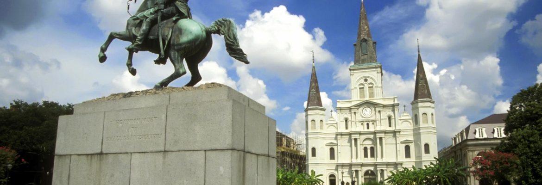 Jackson Square, New Orleans,Louisiana, USA