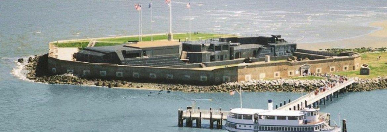 Fort Sumter Ferry,South Carolina, USA
