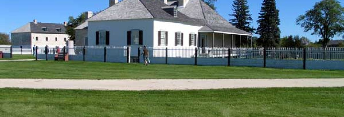 Lower Fort Garry National Historic Site.St. Andrews, Canada