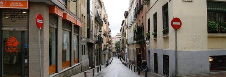 Calle de Santa Maria, Alonso de Ojeda, Cáceres, Spain