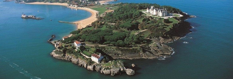 Magdalena Peninsula,Santander, Cantabria, Spain