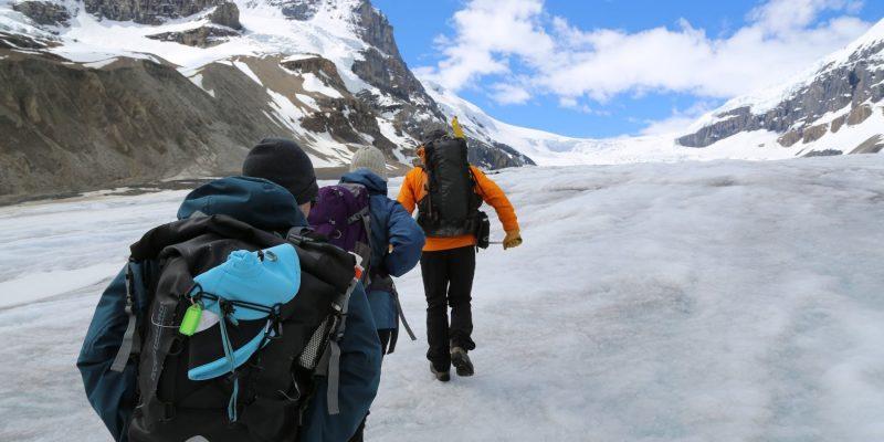 Ice Walk, Athabasca Glacier, Improvement District No. 12, AB, Canada
