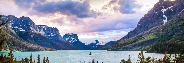 Avalanche Lake, Glacier National Park,Montana, USA