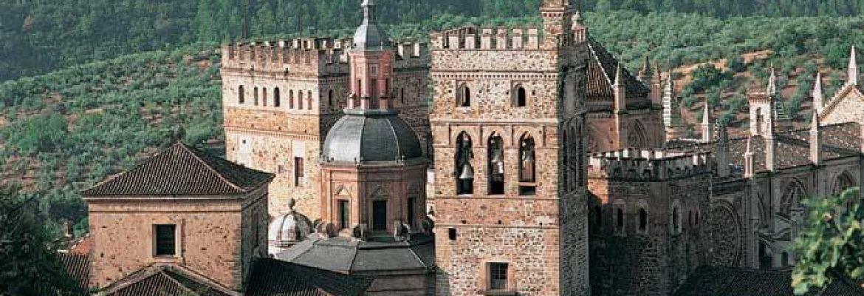 Monasterio Real de Santa María de Guadalupe, Unesco,Guadalupe, Spain