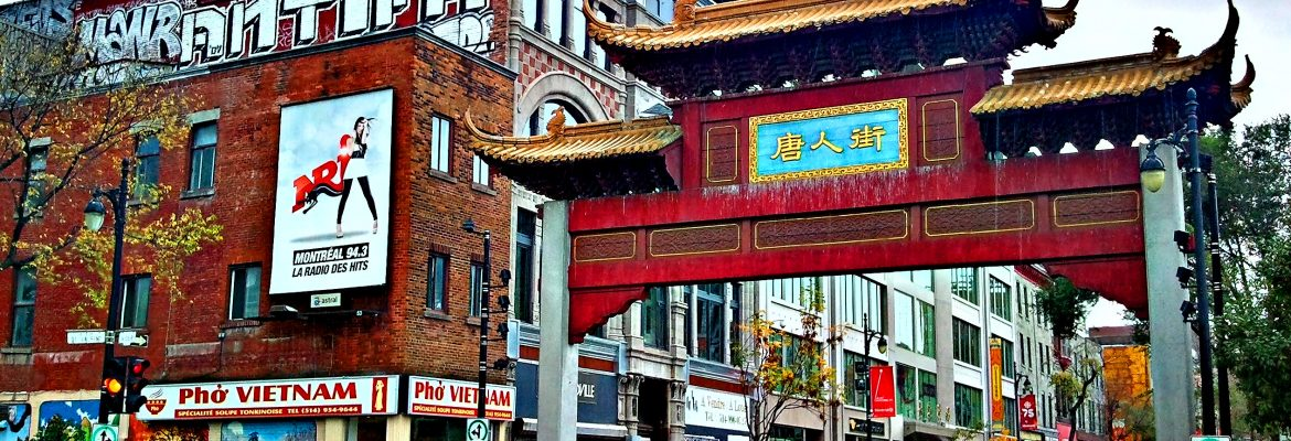 Chinatown, Old Montreal, QC, Canada