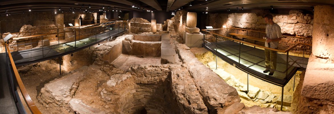 Museum of the History of Barcelona, Spain