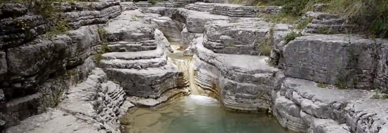 Papingo Rock Pools,Papigko, Greece