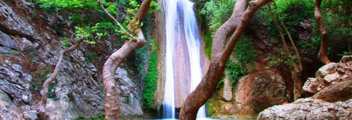 Neda Waterfalls, Avlonas, Greece