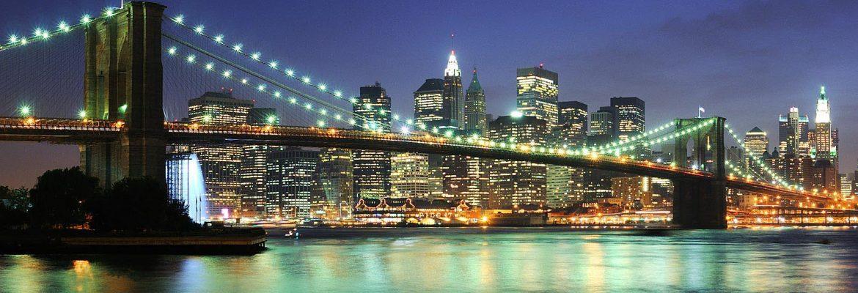 Manhattan Skyline, New York City, New York, USA