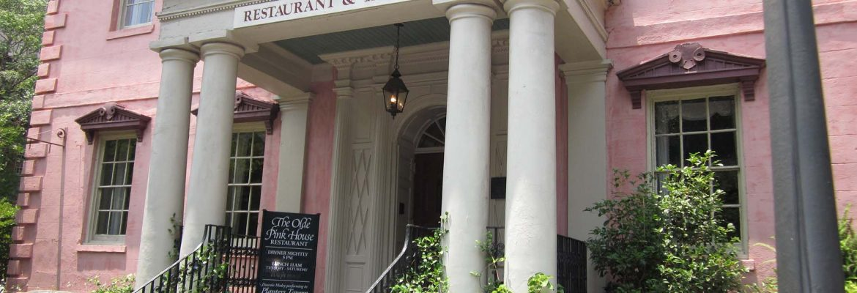 The Olde Pink House,Savannah,Georgia, USA
