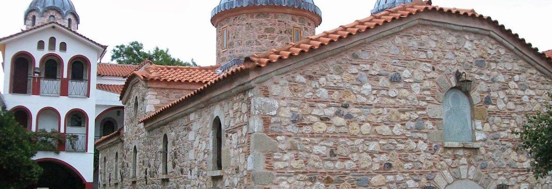 Monastery of Saint David, Rovies, Greece