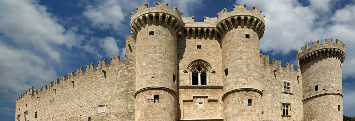 Palace of the Grand Master of the Knights of Rhodes,Rhodes, Greece
