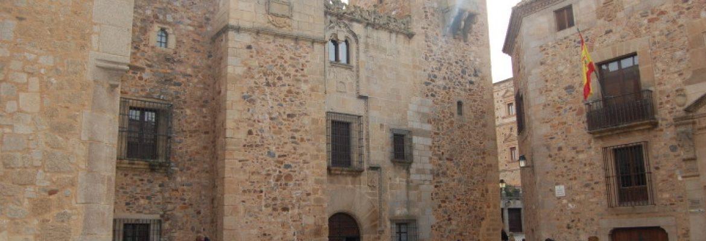 Palacio De Los Golfines De Abajo,Cáceres, Spain