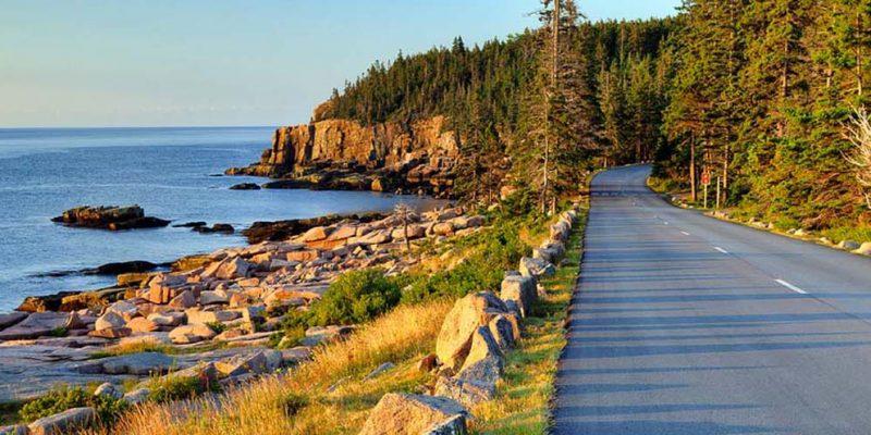 Park Loop Road,Bar Harbor, Maine, USA