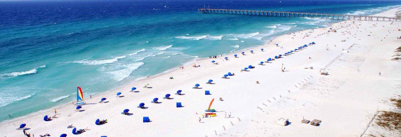 Pensacola Beach Boulevard,Pensacola Beach,Florida, USA