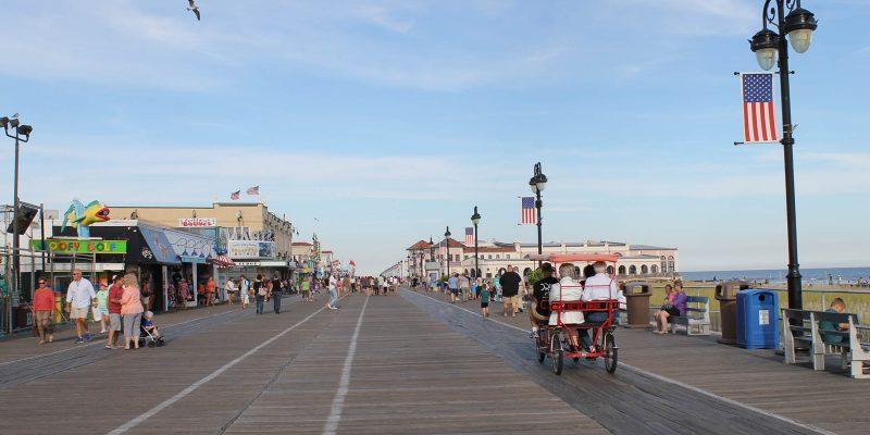 Ocean City Boardwalk, Ocean City, New Jersey, USA