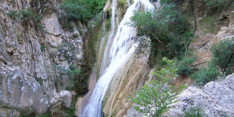 Polylimnio Waterfalls,Charavgi, Greece