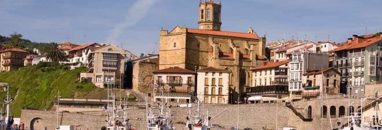 Church of San Salvador,Gipuzkoa, Spain