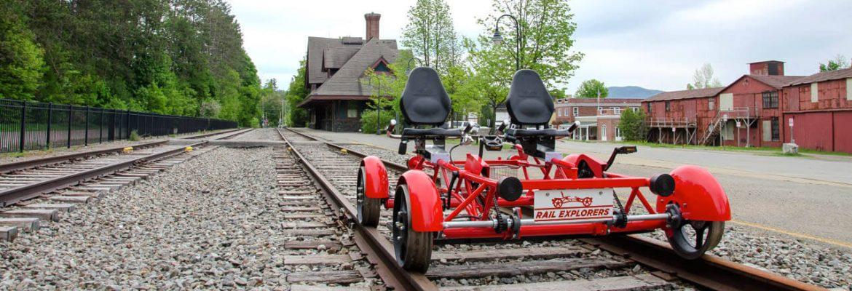 Rail Explorers, Rhode Island, USA