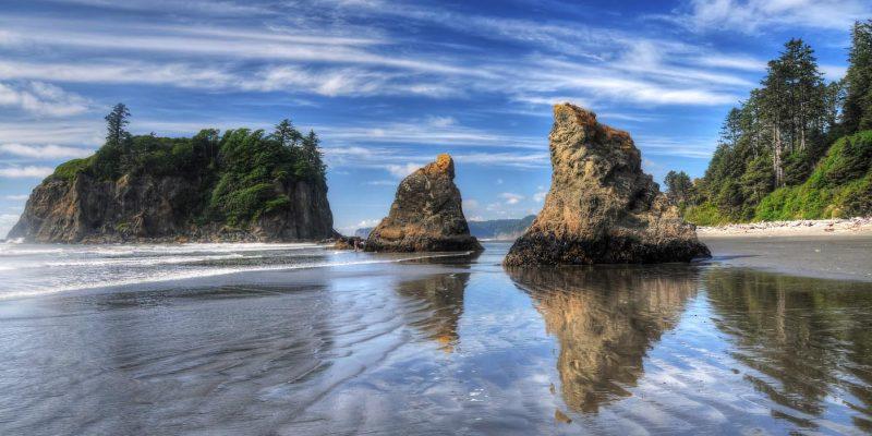 Ruby Beach, Washington, USA