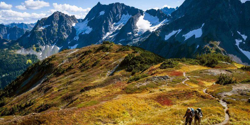 North Cascades Highway, North Cascades National Park,Washington, USA