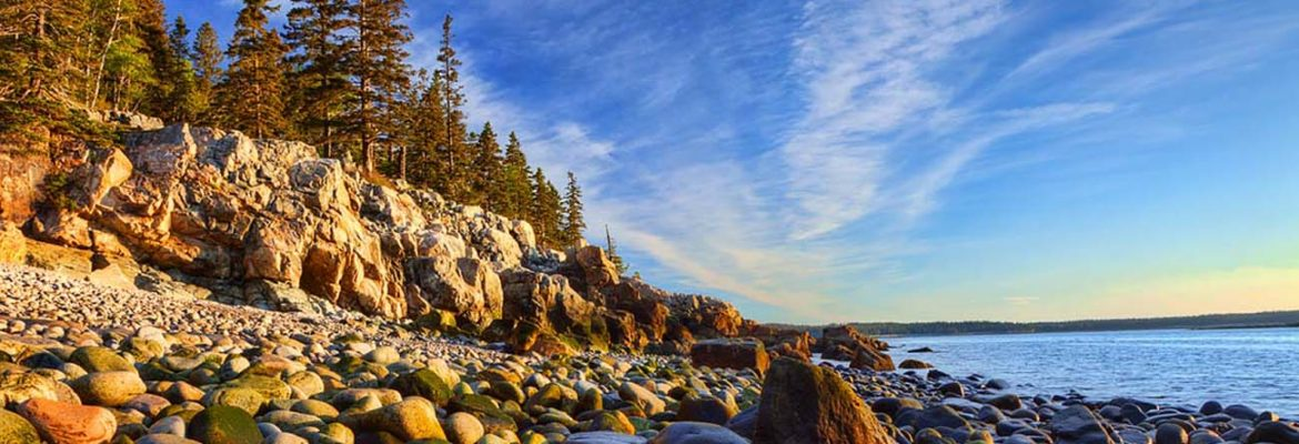 Schoodic Peninsula, Winter Harbor, Maine, USA