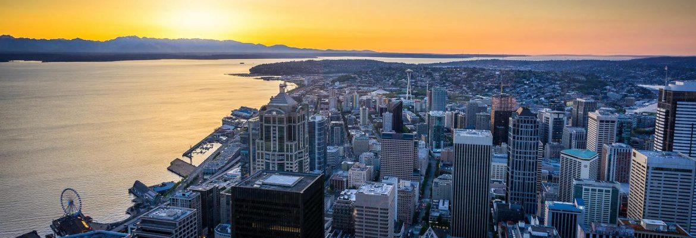 Sky View Observatory, Seattle,Washington, USA