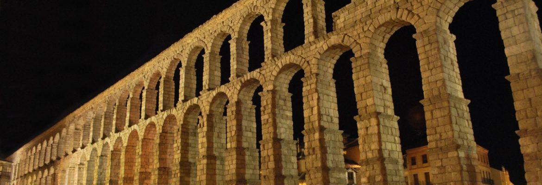 Aqueduct of Segovia,Segovia, Spain
