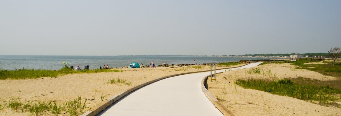 Silver Sands State Park,Milford,Connecticut, USA