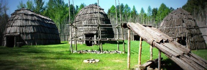 Ska-Nah-Doht Village and Museum,Mount Brydges, Canada