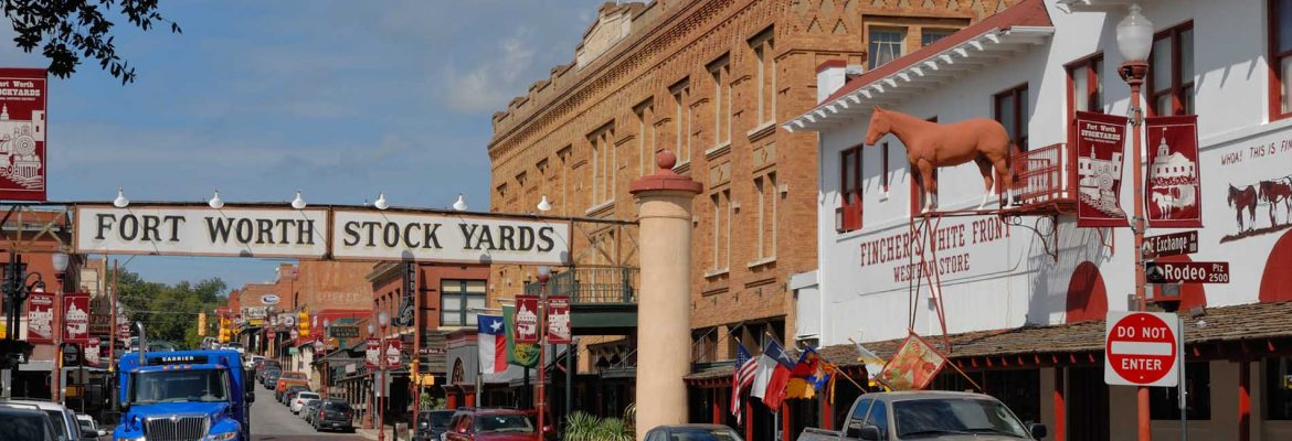 Fort Worth Stockyards National Historic District, Fort Worth, Texas, USA