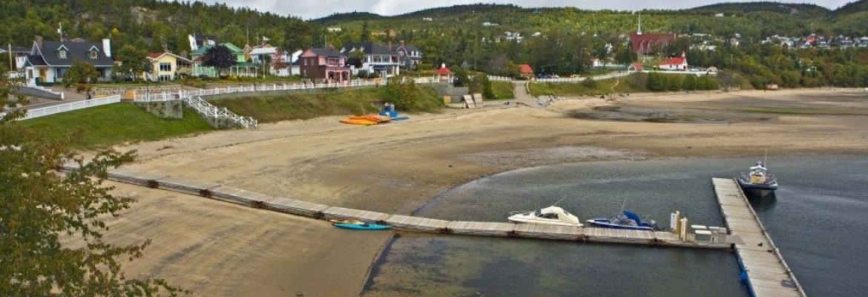 Tadoussac beach, QC, Canada