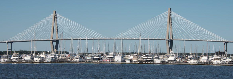 Arthur Ravenel Jr. Bridge, Charleston,South Carolina, USA