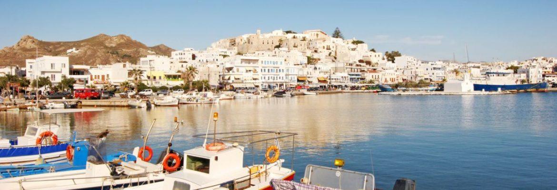 Ferry Naxos Port, Naxos, Greece