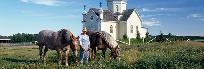 Ukrainian Cultural Heritage Village,Tofield, AB, Canada