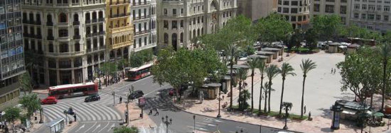 Plaza Ayuntamiento, Valencia, Spain