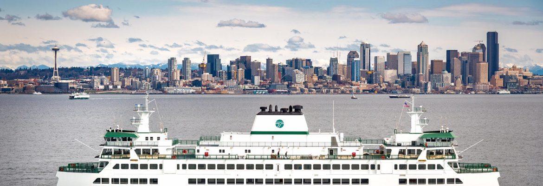 Seattle – Bremerton Ferry, Washington, USA