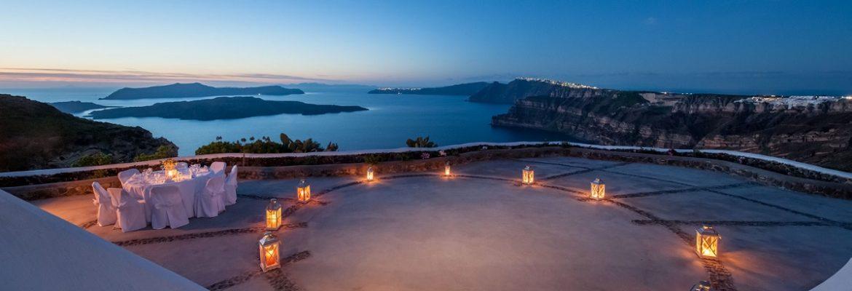 Venetsanos Winery,Santorini Island, Greece