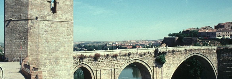 San Martin's Bridge,Toledo, Spain