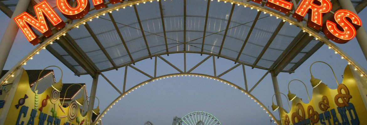 Morey's Piers and Beachfront Water Parks, Wildwood, New Jersey, USA